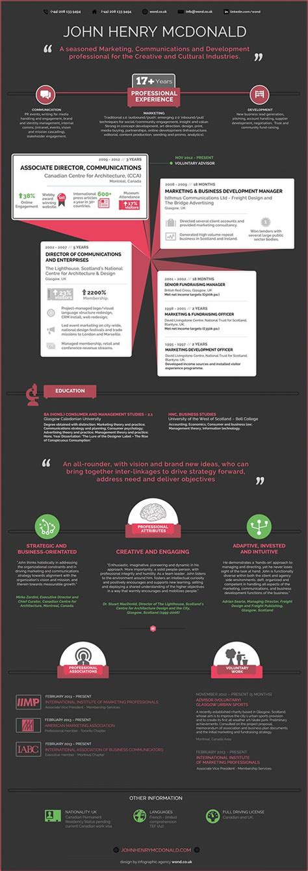 35 infographic resume templates free sle exle