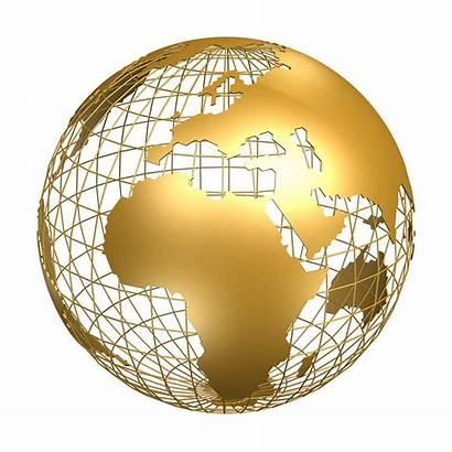 Monde Dessins Afrique Drapeaux Globe