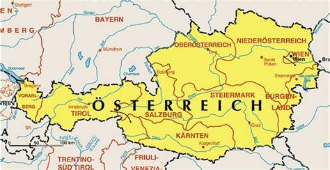 landkarte oesterreich landkarten