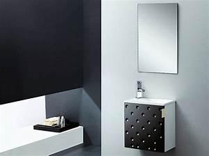 Waschbecken Spiegel Kombination : badm bel set g ste wc waschbecken waschtisch somo weiss schwarz rot 40cm ebay ~ Markanthonyermac.com Haus und Dekorationen