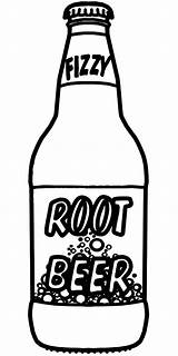 Beer Bottle Coloring Root Pages Drawing Soda Clip Sketch Sprite Clipart Bottles Cola Coca Printable Rootbeer Alcohol Sheet Template Abcteach sketch template