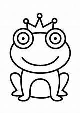 Frog Coloring Tulamama sketch template