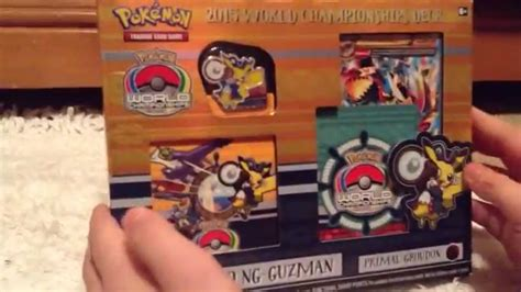 World Chionship Decks 2015 by 2015 World Chion Deck Unboxing