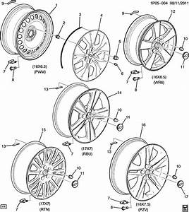 2012 Chevrolet Cruze 1lt 4dr Wheel  Wheelwheel  Aajy