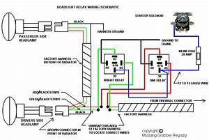 Wiring Diagram For Headlamp Relay