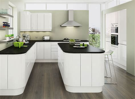 planar white kitchen units cabinets magnet kitchens
