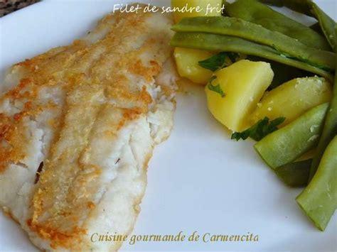 sandre cuisine recettes de sandre et légumes