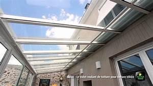 Rideau De Toit Pour Veranda : volet roulant de toiture youtube ~ Melissatoandfro.com Idées de Décoration