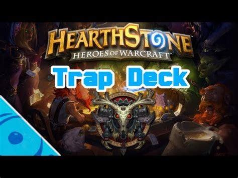 Hearthstone  Hunter Trap Deck Youtube