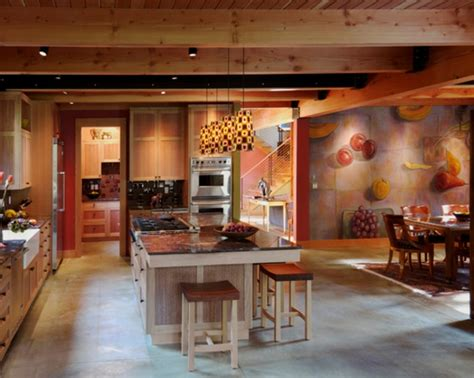 cuisine bois peint cuisine bois peint wraste com