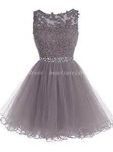 8th grade graduation dresses stores grey homecoming dress beading homecoming dresses