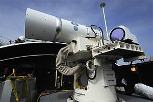 Lockheed Martin Shows Off High-Power Fiber Laser Weapon ...