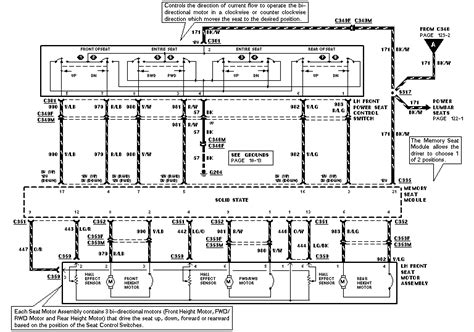 Memory Seat Wiring Diagram 2008 F250 by Wire Diagram For 1997 Ford Explorer Ft Power Seat