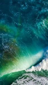 Wallpaper, Waves, Sea, Ocean, Stock, Ios, Apple, Hd, 5k, Nature, 8185