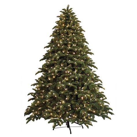 ge 7 5 ft just cut noble fir ez light artificial