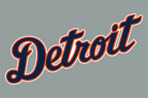 Detroit Tigers Jersey Logo (1994)