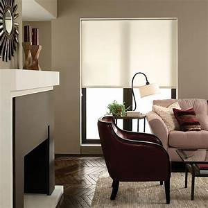 Deluxe Light Filtering Fabric Roller Shades