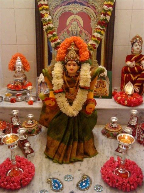 Varalakshmi Vratham Decoration Ideas With Coconut by Varalakshmi Pooja Removes Obstacles Procedure Benefits