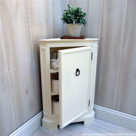 remodelaholic   build  catalog inspired corner cabinet