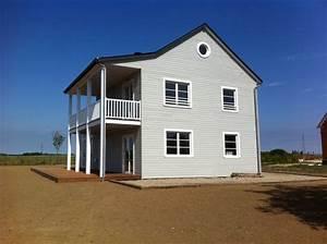 realisations maisons d39interieur a caen ossature bois With plan de grande maison 1 maison en bois massif isolee par lexterieur maisons d