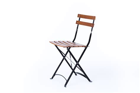 wooden slat folding chair rental encore events rentals