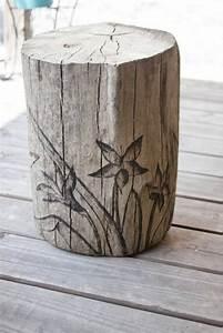 Basteln Mit Holz : garten deko zum basteln 40 sch ne bilder ~ Lizthompson.info Haus und Dekorationen