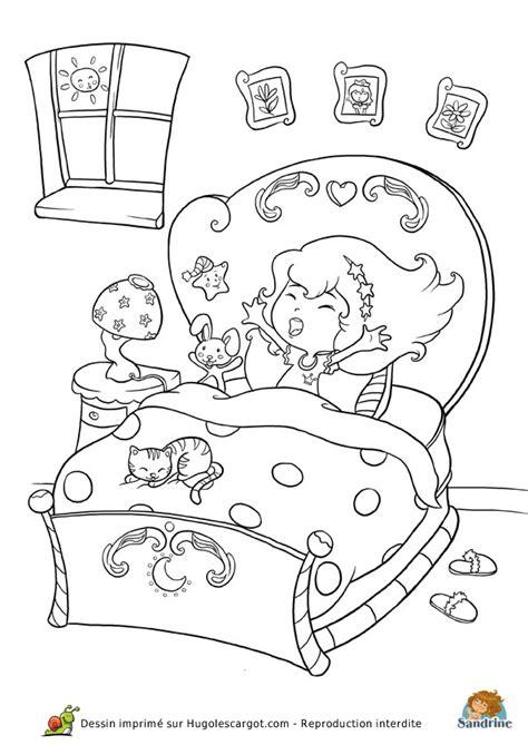 dessin chambre bébé fille coloriage princesse chambre sur hugolescargot com