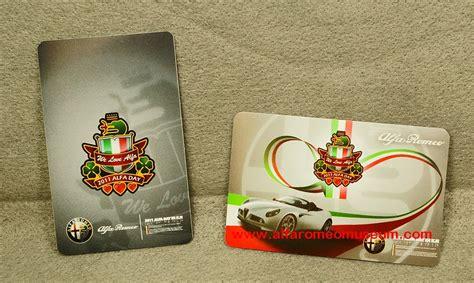 [ Gift ] Stickers  Alfa Romeo Model Car Museum