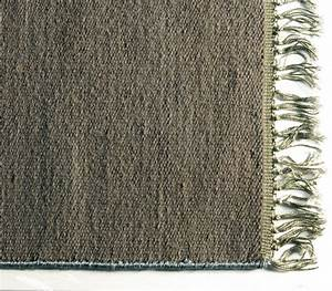 tapis laine joice gris 110x170 toulemonde bochart With tapis gris laine