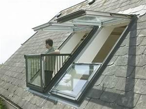Dachbalkon Nachträglich Einbauen : dachfenster mit austritt von velux eine bersicht wand ~ Michelbontemps.com Haus und Dekorationen