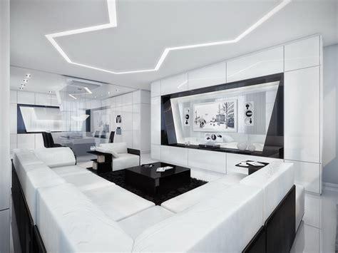 interior design your home black and white contemporary interior design ideas for