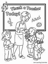 Coloring Teacher sketch template