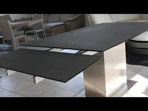 auckland table de salle a manger effet ceramique avec With salle À manger contemporaineavec table de salle a manger en bois avec rallonge
