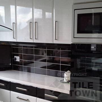 black gloss kitchen tiles lisso brillo grey kitchen wall tile 4679