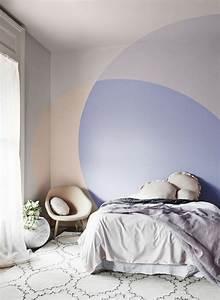 Tete De Lit Castorama : cr er une tete de lit en peinture 20 inspirations canons ~ Dailycaller-alerts.com Idées de Décoration