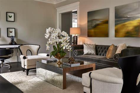 updated traditional home formal living room transitional living room orlando  john