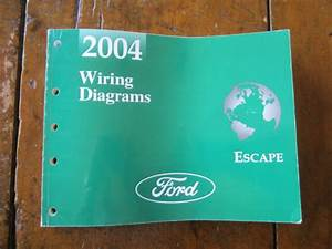 2004 Ford Escape Electrical Wiring Diagrams