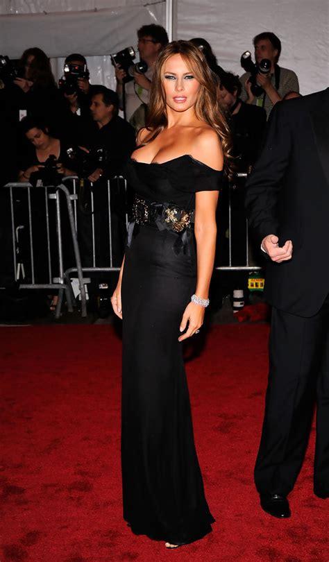 Melania Trump Evening Dress Melania Trump Looks Stylebistro