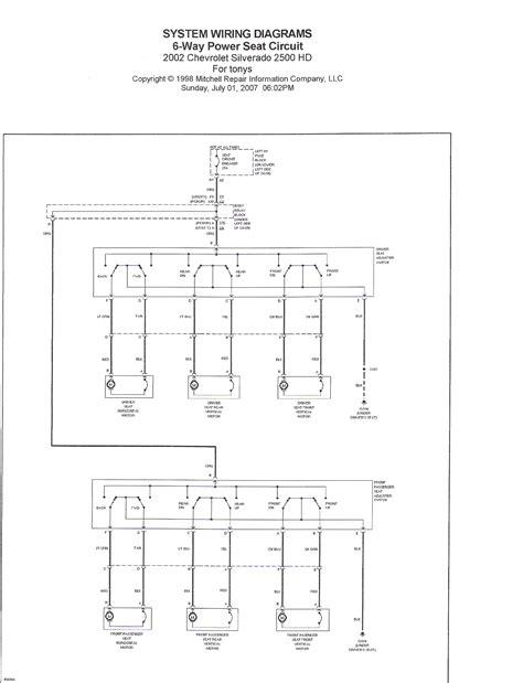 2007 Chevy Silverado Remote Start Wiring Diagram by Installing Feature 8 Way Seats Into A Chevy Silverado