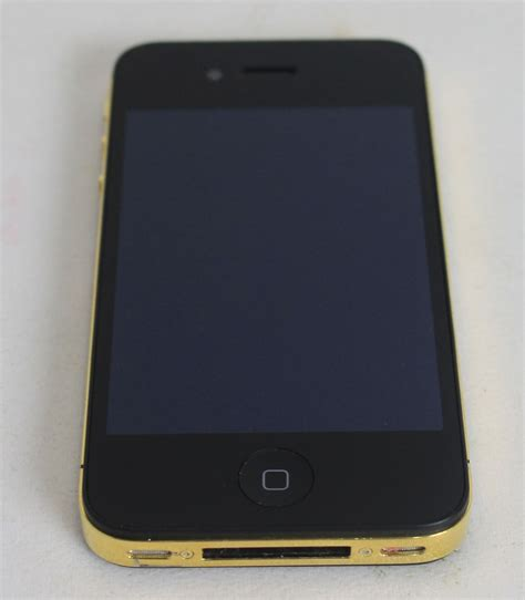 mobile iphone 4s apple iphone 4s a1387 16gb 3g black 24k gold smartphone 3