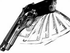 Money And Drugs Wallpaper Guns