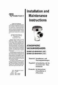 T U0026s Brass B 16 U0026quot  Rigid Vacuum Breaker Standard