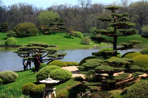 japanese garden picture of chicago botanic garden