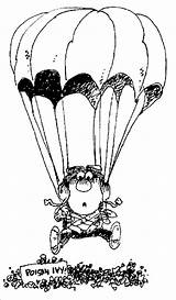 Skydiver Coloring Pages Kidprintables Return Main Summer sketch template