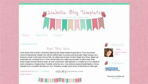 blogger templates free download 2012 - isabella owl and bunting blog template