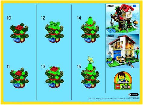lego christmas tree instructions 30186 creator