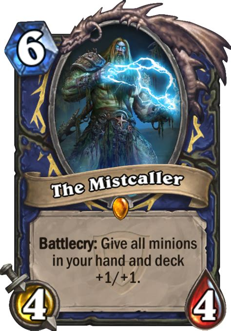 Hearthstone Grand Tournament Totem Deck by The Mistcaller Hearthstone Card