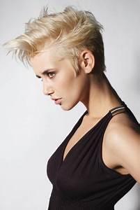 Coupes Cheveux Courts Femme : coupe cheveux courts rock femme ~ Melissatoandfro.com Idées de Décoration