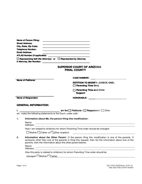 az child support worksheet kidz activities