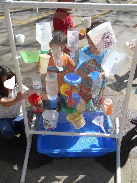 learning and teaching with preschoolers water wall 888 | waterwall